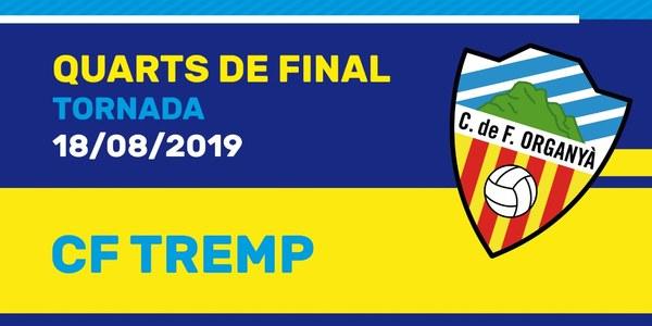 "18.30 h PARTIT DE FUTBOL: ""Copa Pirineus"". Quarts de Final:"