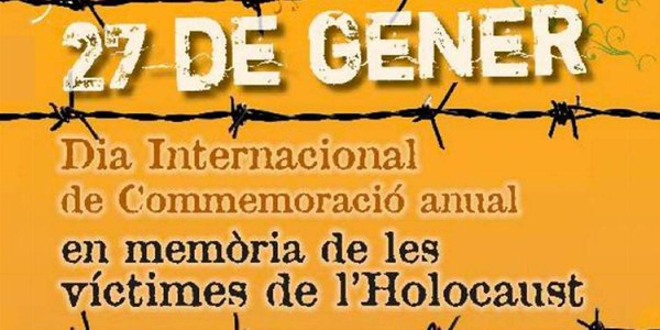 Dia internacional en memòria de les víctimes de l'Holocaust