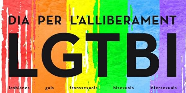 Dia Internacional de l'Orgull LGBTI  (Lesbianes, Gais, Transsexuals, Bisexuals i Intersexuals)
