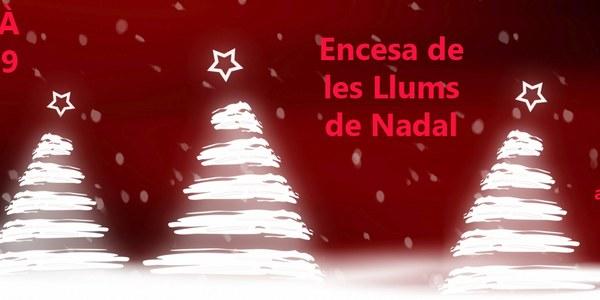 Encesa de les llums de Nadal