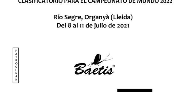"""I Campionat d'Espanya """"CAPTURA I PESCA"""""""