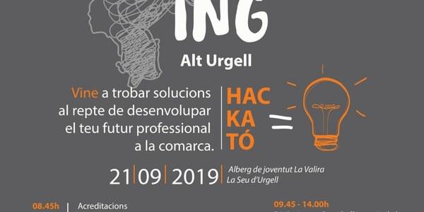 """Nova edició de la jornada """"Arrela't a l'Alt Urgell en format hackató"""