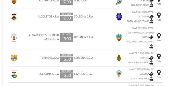Partit de futbol: AGRAMUNT ESC.GERARD GATELL C.F,A - ORGANYÀ