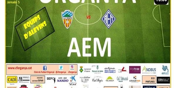 Partit de Futbol (Alevins) : ORGANYÀ - AEM