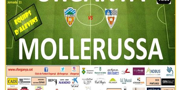 Partit de Futbol (Alevins) : ORGANYÀ - MOLLERUSSA