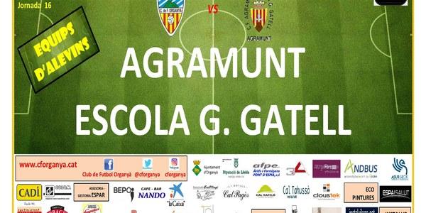 Partit de futbol ORGANYÀ-AGRAMUNT