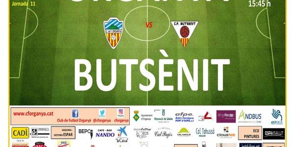 Partit de Futbol: ORGANYÀ - BUTSÈNIT