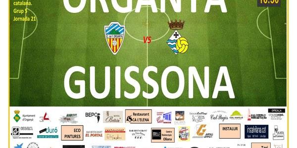 Partit de Futbol: ORGANYÀ - GUISSONA