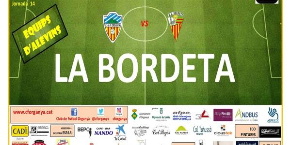 Partit de futbol ORGANYÀ-LA BORDETA