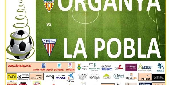 Partit de Futbol: ORGANYÀ - LA POBLA DE SEGUR