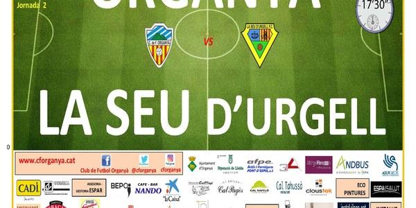 Partit de futbol ORGANYÀ-LA SEU