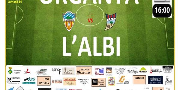 Partit de Futbol: ORGANYÀ - L'ALBI