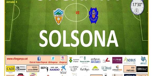 Partit de futbol ORGANYÀ-SOLSONA