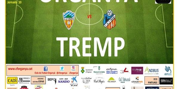 Partit de Futbol: ORGANYÀ - TREMP