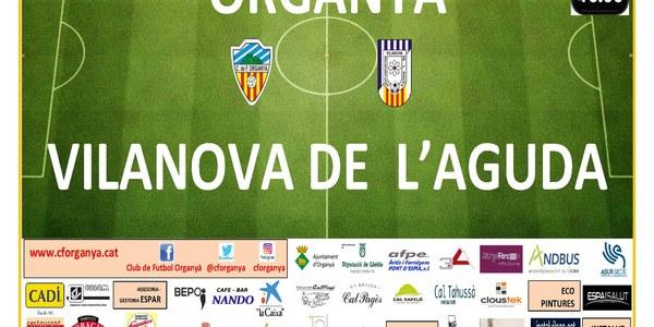 Partit de futbol ORGANYÀ-VILANOVA DE L'AGUDA