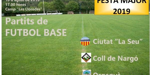 PARTITS DE FUTBOL BASE