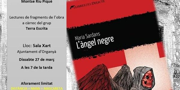 """Presentació de """"L'àngel negre"""" amb Maria Sardans."""