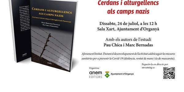"""Presentació del llibre """"Cerdans i alturgellencs als camps nazis"""""""