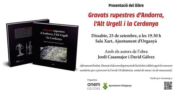 """Presentació del llibre """"Gravats rupestres d'Andorra, l'Alt Urgell i la Cerdanya"""""""