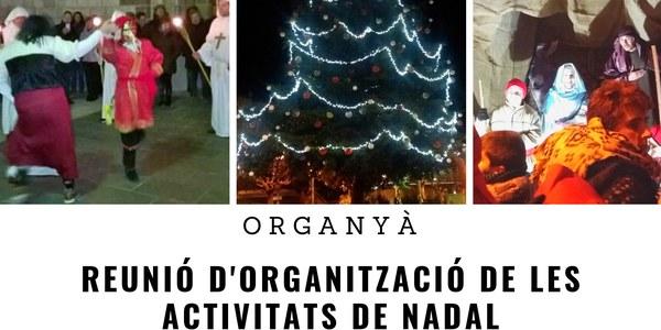 Reunió d'organització de les activitats de Nadal
