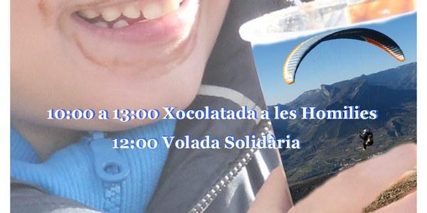 Xoco-volada solidària. Amb La Marató de TV3