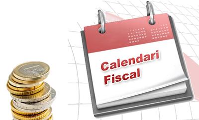 Calendari fiscal de recaptació en voluntària. O.A.G.R.T.L.