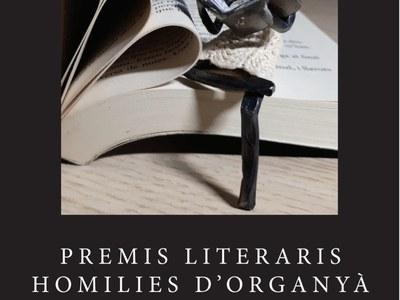 """Llibre Premis """"Homilies d'Organyà"""" 2019."""