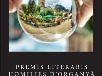 """Premis literaris """"Homilies d'Organyà"""" 2020. Llibre."""