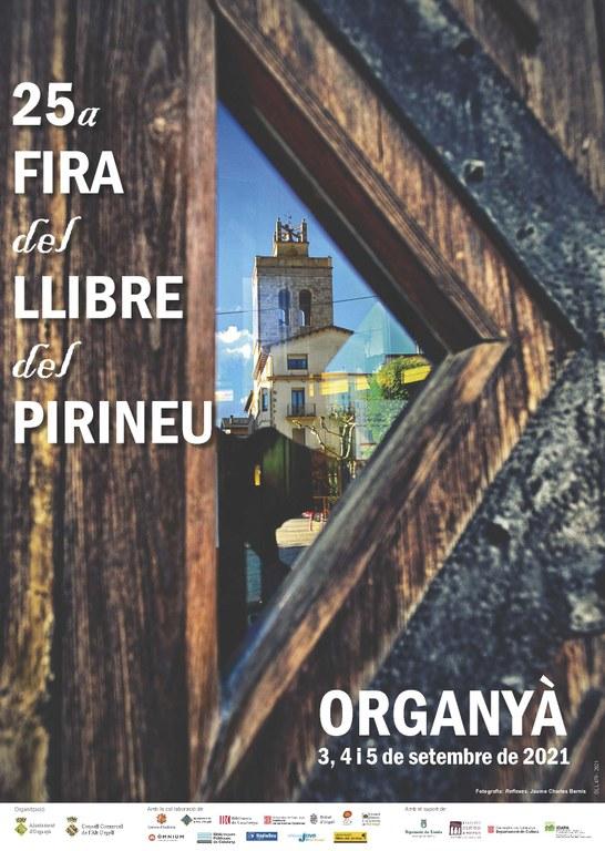 Fira del Llibre del Pirineu. Cartell oficial