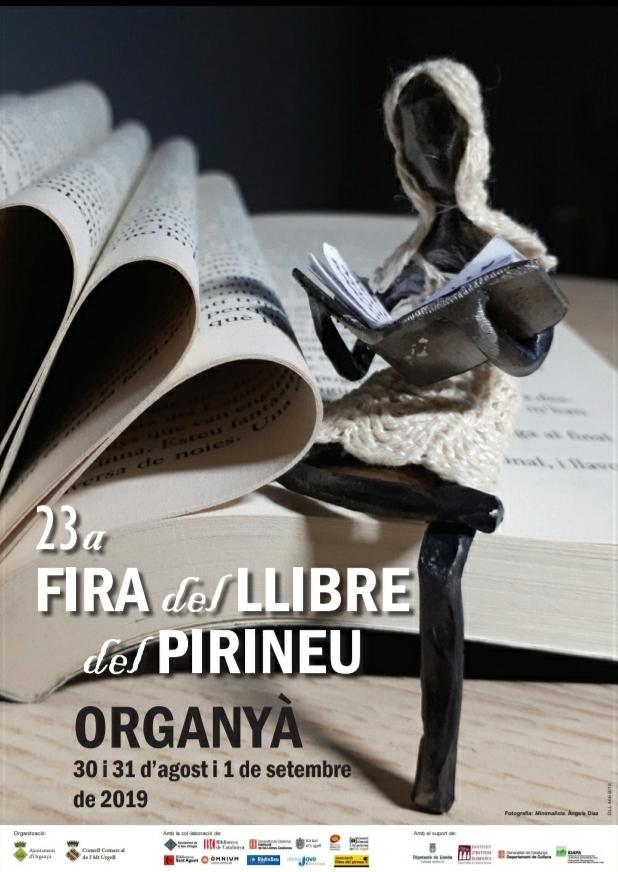 Cartell oficial de la Fira del Llibre del Pirineu